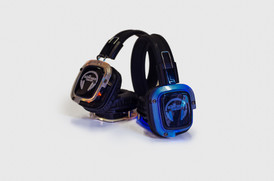Ecom shots for The Silent Disco company, light up headsets