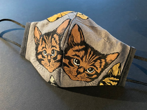 Children's Mask - Stitched Cat