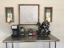 Gathering House Coffee Station