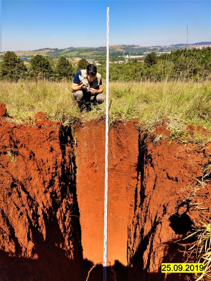 Descrição de solo.