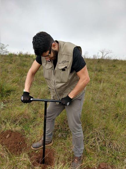 Sondagens para licenciamento ambiental.