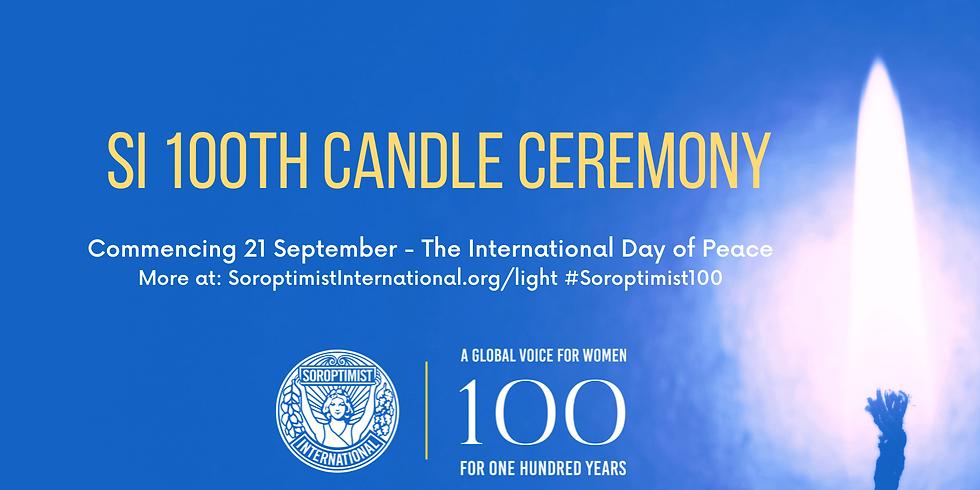 Soroptimist International Ljusceremoni 21 september