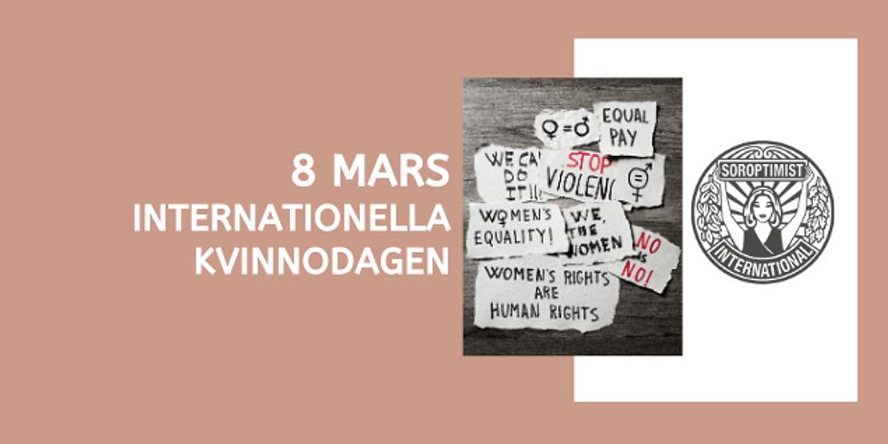 8 mars - Internationella Kvinnodagen