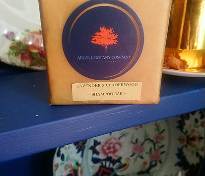 Lavender & Ceaderwood shampoo bar