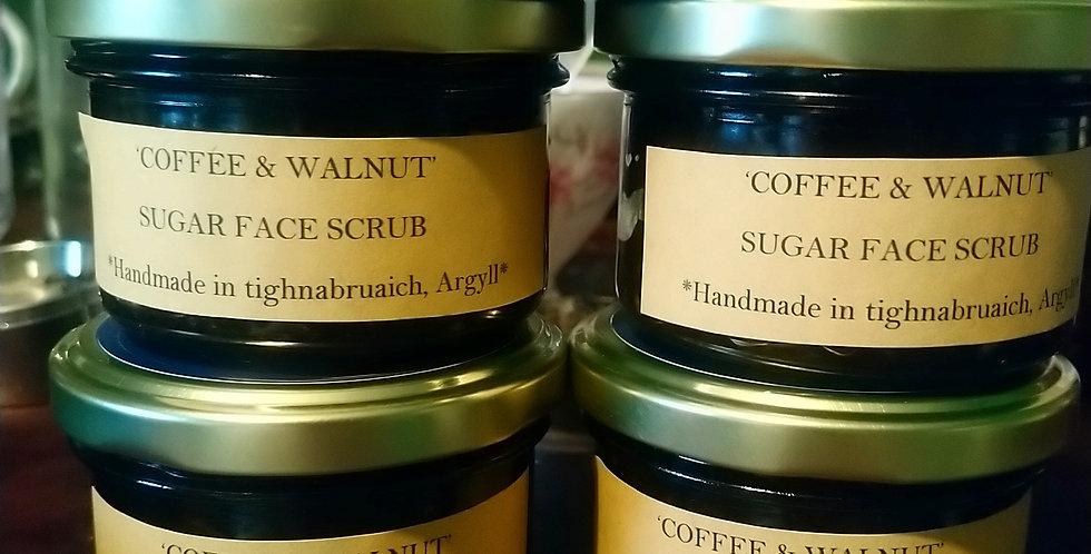 Coffee & Walnut face scrub