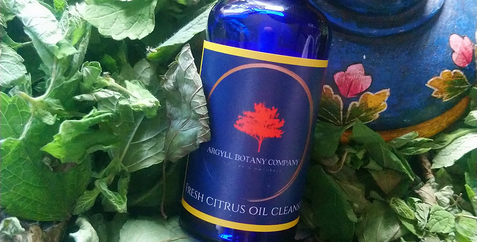 Citrus oil cleanser