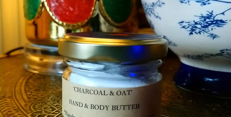 Charcoal & Oat cream