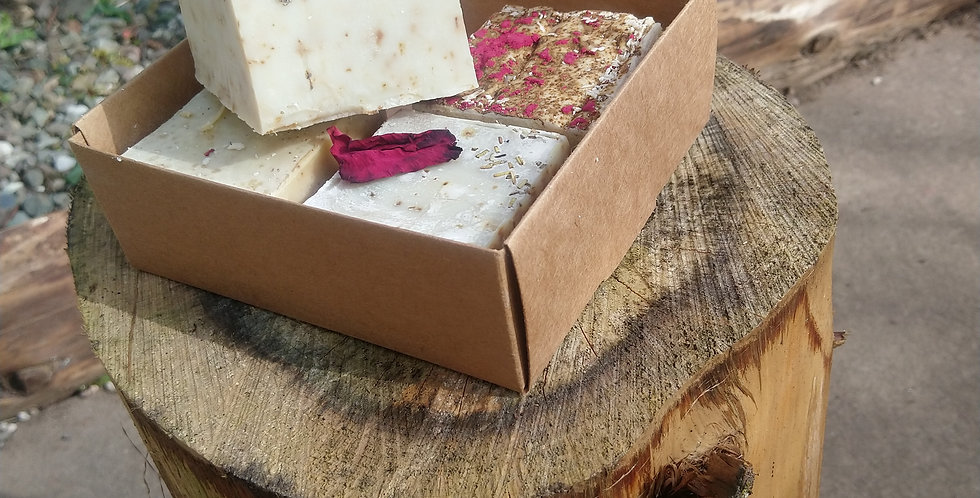 Essential oil soap gift set