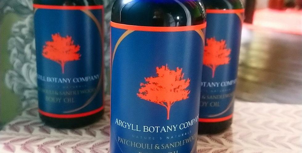 Patchouli & Sandlewood body oil