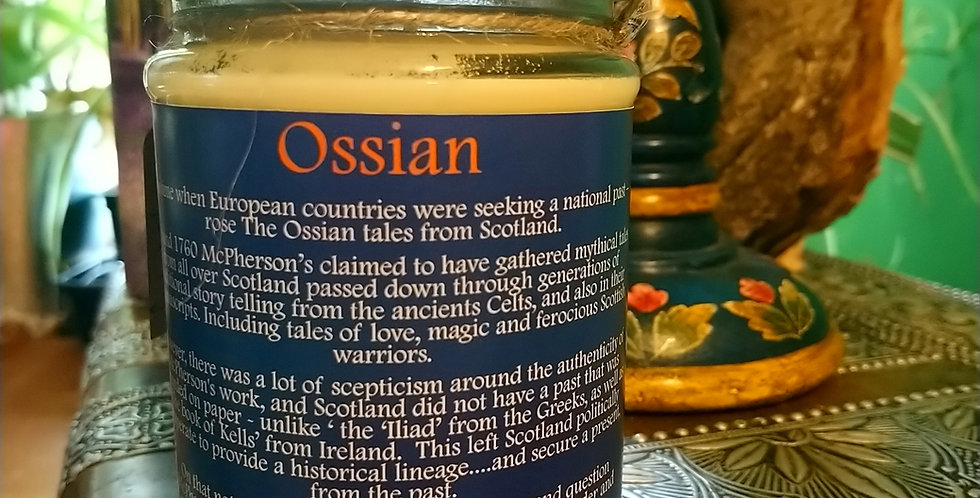 'Ossian' Patchouli and Lavender.