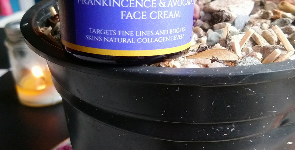 Frankincense & Avocado face cream