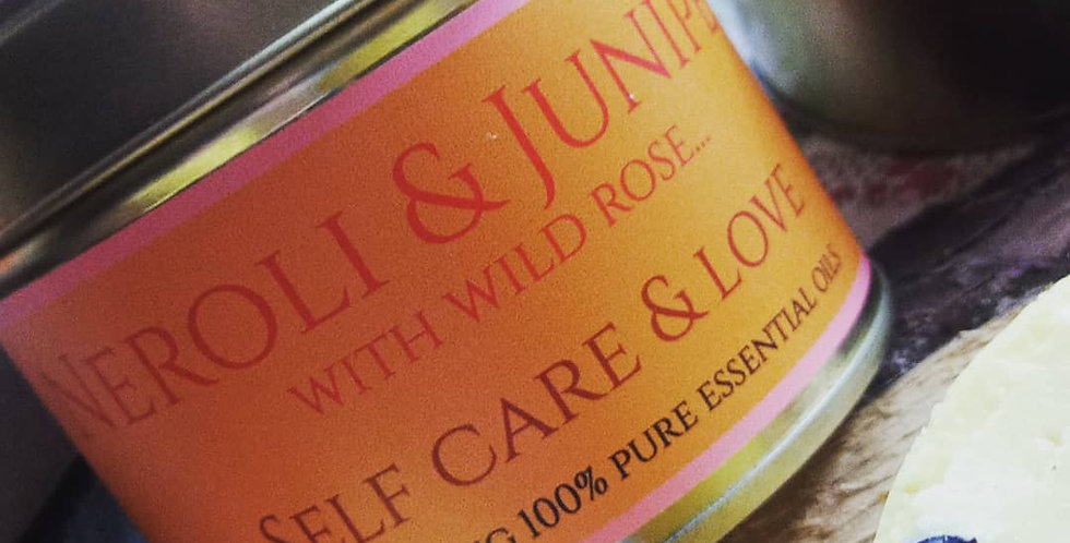 self care and love candle