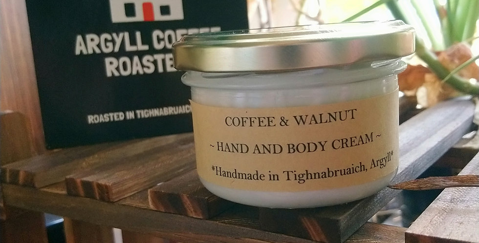 Coffee & Walnut body butter