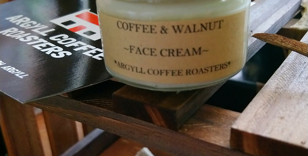 Coffee& walnut face cream
