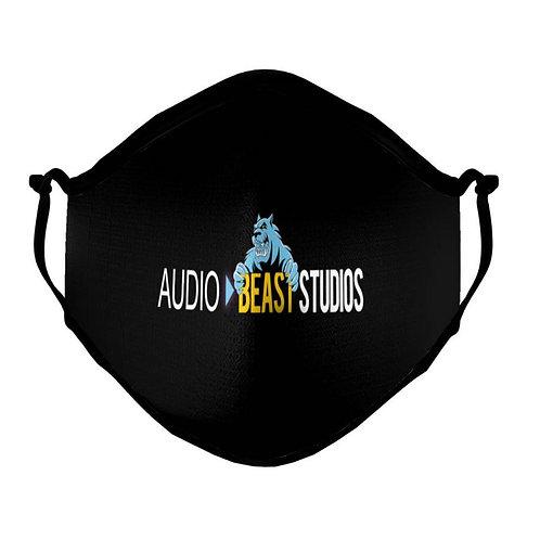 Audio Beast Large Logo FaceMask