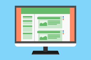 Online-Marketing Website Homepage