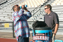 Franco Harris, NFL Hall of Fame brings Super Hydration Drink to Market - America's New Daily Per