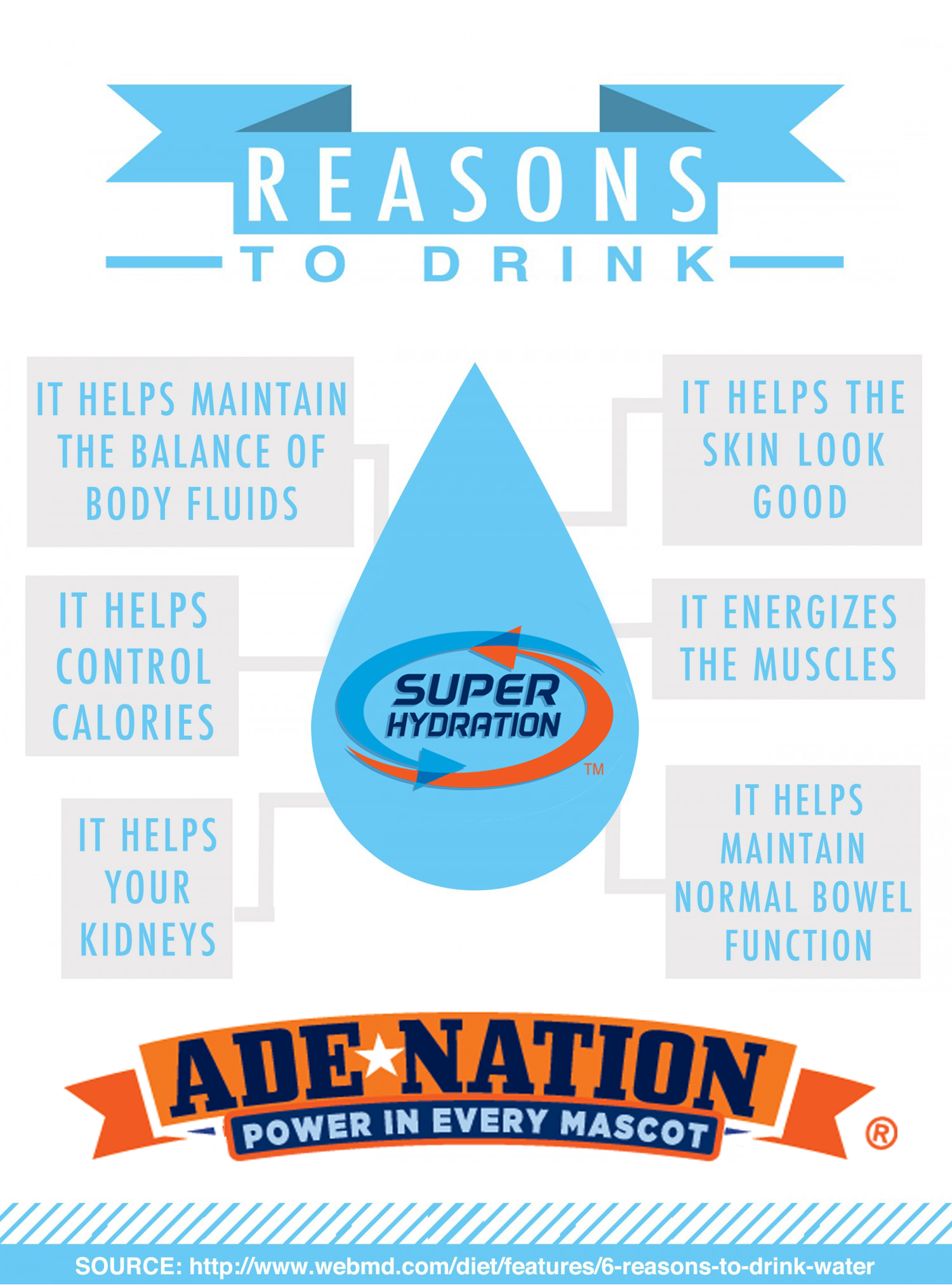 Reasons to drink Ade Nation