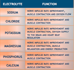 Electrolyte Function