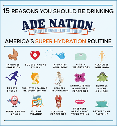 15 Reasons You Should Be Drinking Ade Nation Every Day