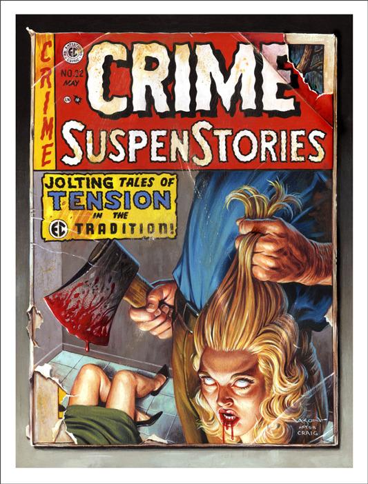 Crime Suspense Stories