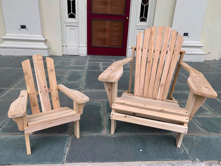 Adirondack Chair Fundraiser!