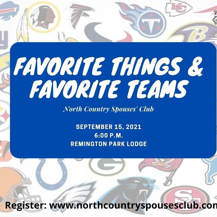 Favorite Things, Favorite Teams Luncheon