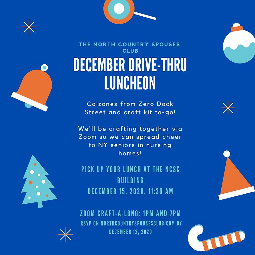 December Drive-Thru Luncheon