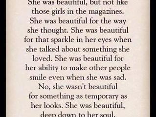 She was beautiful…