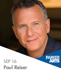 Paul Reiser: author, actor, singer/songwriter, and for his show this fall, a comedian.