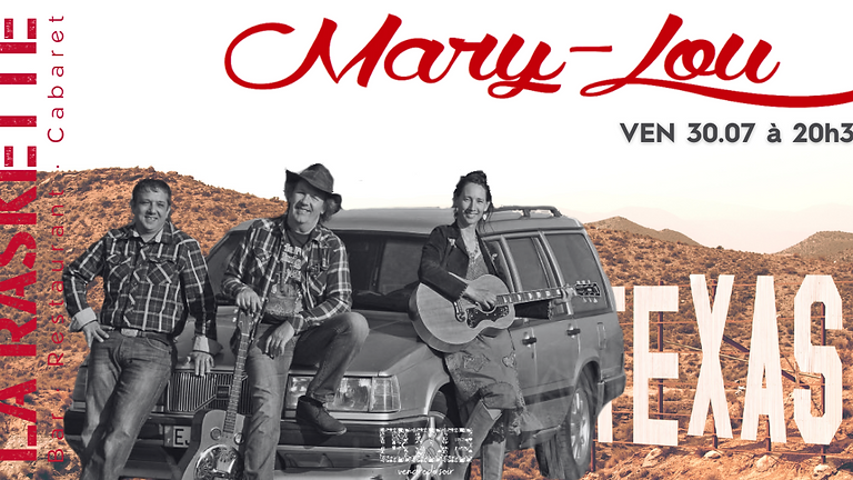 CONCERT LIVE   Folk Country \\ Mary-Lou