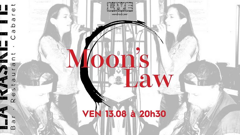 CONCERT LIVE   100% Pure Rock \\ Moon's Law