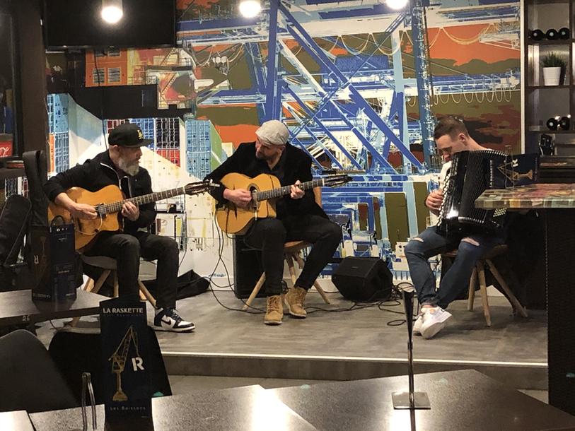 Swing France en concert à la Raskette à Brest
