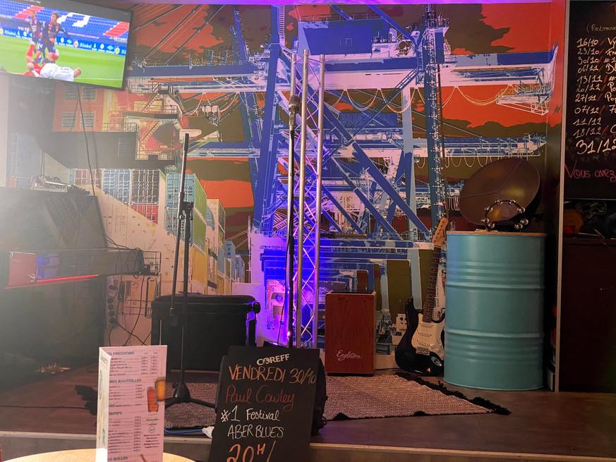 terrasse la raskette bar cocktail bière happyhour afterwork restaurant pizza burger salade fish&chips cabaret concert brest