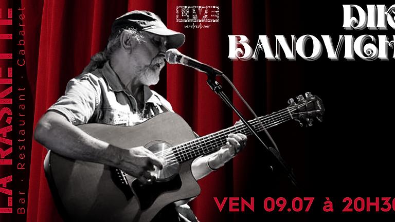 CONCERT LIVE   Acoustic Roots & Blues \\ Dik Banovich