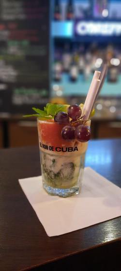 cocktail au bar de la raskette a brest