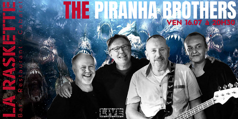 CONCERT LIVE | Blues and Rock 60's 70's \ The Piranha Brothers