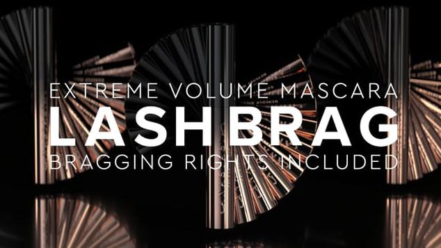 Lash Brag Volumizing Mascara   Advertising 01