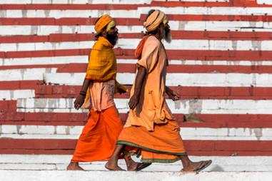 Los ascetas de la India