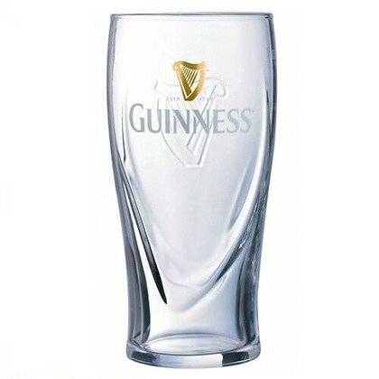 Guinness Embossed Harp Half Pint Beer Glass - CE *Exclusive To The Deal House*