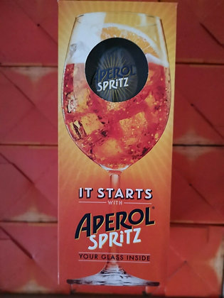 Aperol Spritz Large Glass Bowl Goblet Boxed - (Pack of 1)