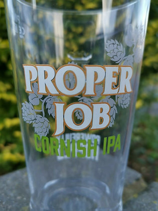 Proper Job Cornish IPA st Austell Ale Pint Glass (Pack of 1)