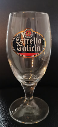 Estrella Galicia Chalice Pint Glass [Pack of 1]