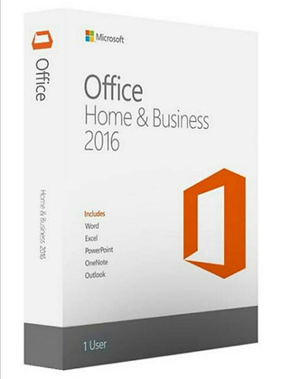 Microsoft Office 2016 Home and Business (1 User) - MAC Version