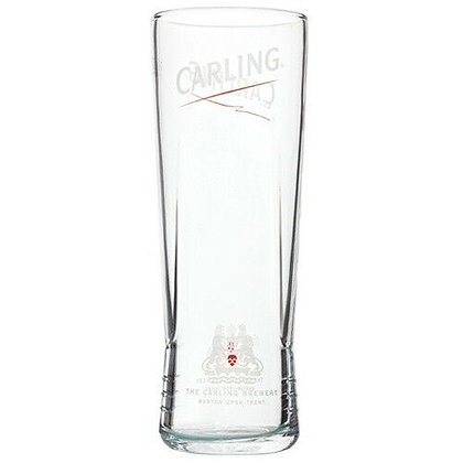 Carling Pint Beer Glass - Toughened Glass - 20oz - 570ml