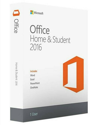 Microsoft Office Home and Student 2016 Lifetime (Windows PC Only) - One User