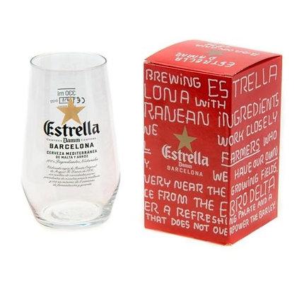 Estrella Damm Half Pint Glasses - 330ml (Set of 1)