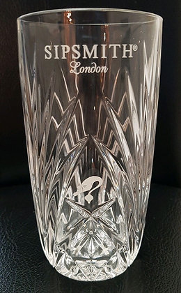 Sipsmith Gin Glass Limited Special Edition Design [Each]