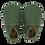 """Thumbnail: Bobux - Soft Sole """"Dino Olive"""" Verde oliva"""