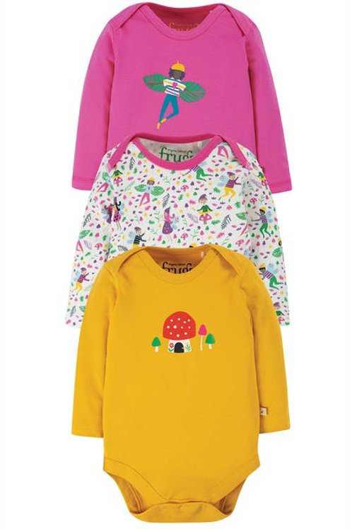 """Frugi - Super Special 3 Pack Body """"Fairy"""""""